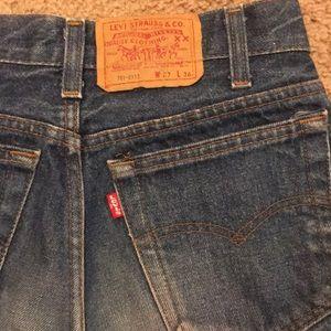 Levi's Jeans - Levi's 701 Vintage